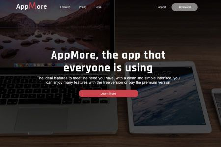 Appmore template html Themeforest